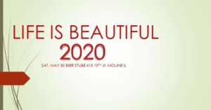 Life is Beautiful 2020 Text