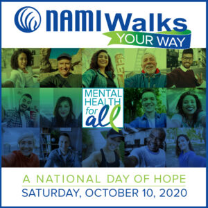 People participating in NAMIWalks Your Way virtually