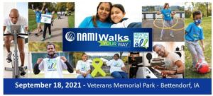 pictures of people participating in a 5K fundraising walk