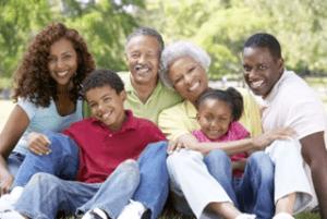 A 3-generation Black family